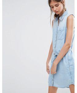 Ditto's | Olivia Denim Shirt Dress Синий