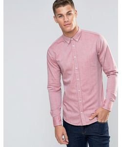 BOSS Orange | Оксфордская Рубашка Слим В Воротником На Пуговицах Edipoe