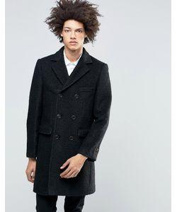 Feraud | Пальто Из Вареной Шерсти Premium Черный