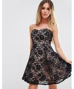 Jessica Wright   Кружевное Платье С Вырезом Сердечком