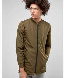 RVLT | Удлиненная Куртка-Пилот Revolution Зеленый