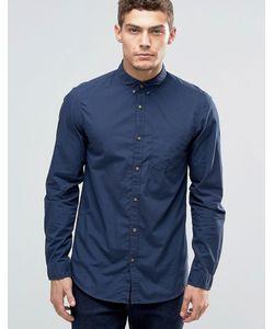 Jack & Jones | Рубашка На Пуговицах С Карманом Темно-Синий