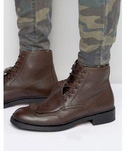 G-Star | Кожаные Ботинки На Шнуровке Guard Коричневый