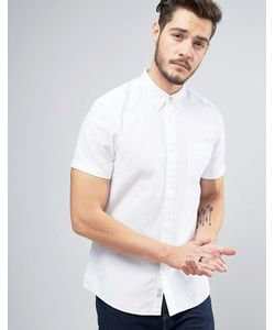 Jack Wills | Оксфордская Рубашка Классического Кроя С Короткими Рукавами Stableton
