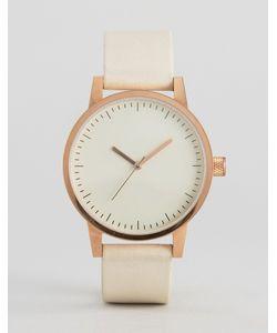 Simple Watch Company | Золотисто-Розовые Часы С Кожаным Ремешком Swco Kent 38 Мм