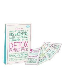 Beauty Extras | Косметический Набор Detox Pamper Pack
