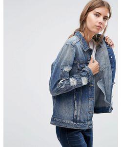 Ditto's | Джинсовая Куртка Бойфренда Smith Blue Smith Vintage