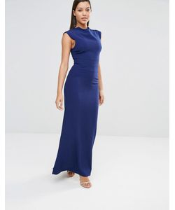 AQ AQ | Платье Макси Aqaq Vapid Pariot Blue