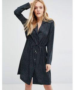 Y.A.S. | Свободное Платье С Леопардовым Принтом Yas Ab12 1col Aop