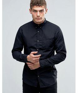 Jack & Jones | Рубашка На Пуговицах С Карманом Черный