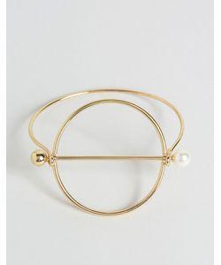 Cara Jewellery | Браслет С Кольцом Cara Ny Золотой