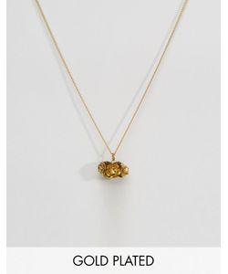 Sam Ubhi | Ожерелье С Подвеской В Виде Цветка Золотой