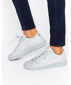 Nike | Серые Кроссовки С Голографической Отделкой Classic