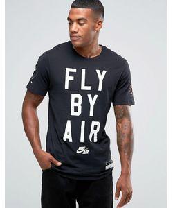 Nike | Черная Футболка Air 822648-010 Черный