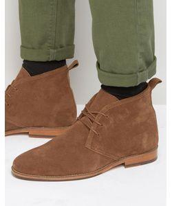Bobbies   Замшевые Ботинки На Шнуровке Le Monsieur Рыжий