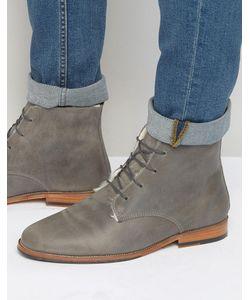 Bobbies | Ботинки На Меховой Подкладке Со Шнуровкой Lexplorateur Серый