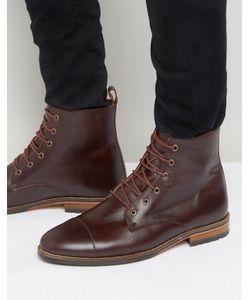 Bobbies | Le Luthier Lace Up Boots Красный
