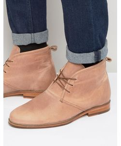 Bobbies   Le Monsieur Leather Short Lace Up Boots Розовый