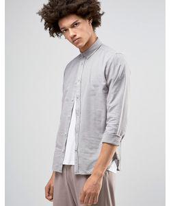 !Solid | Оксфордская Рубашка На Пуговицах Серый 3811