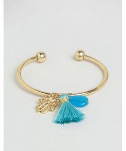 Cara Jewellery | Браслет С Кисточкой И Амулетом Хамса Cara Ny