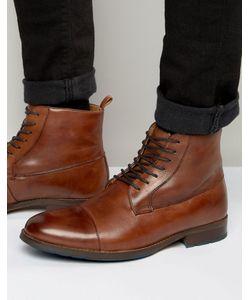 Aldo | Светло-Коричневые Ботинки На Шнуровке Asodda Рыжий