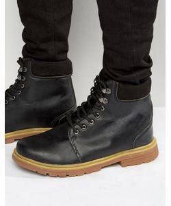Bellfield | Черные Кожаные Ботинки Heritage Черный
