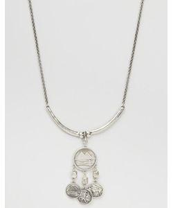 LOW LUV | Посеребренное Ожерелье С Монетами Серебряный