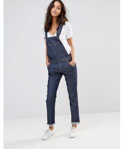 Lee Jeans | Прямой Джинсовый Комбинезон Lee Anchor Blue