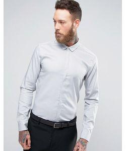 Minimum | Деловая Рубашка Серый