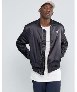 Puma | Черная Курткапилот Luxe Черный