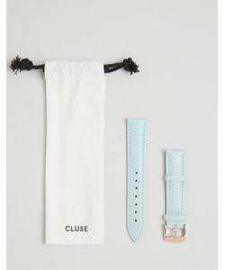 Cluse | Светло-Бирюзовый Кожаный Ремешок Для Часов La Boheme Cls032