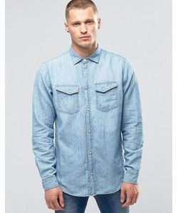 Pepe Jeans | Джинсовая Рубашка С Эффектом Поношенности Pepe Hammond Z31
