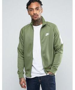 Nike | Зеленая Спортивная Куртка Tribute 678626-387