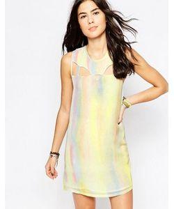 Rvca | Цельнокройное Платье Без Рукавово С Эффектом Металлик