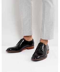 Ted Baker | Черные Блестящие Туфли Дерби Marar