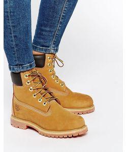 Timberland | Бежевые Ботинки Со Шнурками Premium 6 Бежевый