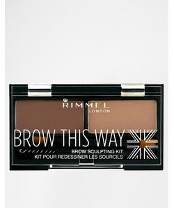 Rimmel London | Набор Для Бровей Brow This Way Коричневый