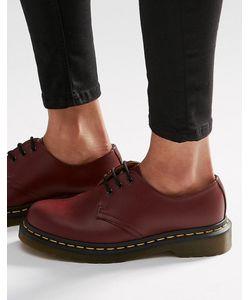 Dr. Martens | Туфли На Плоской Подошве С 3 Парами Люверсов Dr Martens 1461