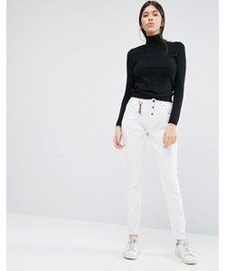 Vero Moda | Белые Облегающие Брюки L34