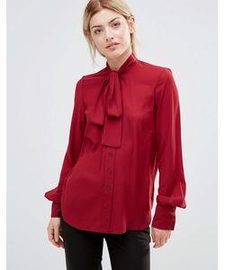 Alter | Блузка С Завязкой У Шеи Красный