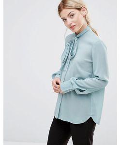 Alter | Блузка С Завязкой У Шеи Зеленый