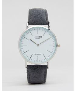 Reclaimed Vintage | Часы С Серым Шерстяным Ремешком Серый