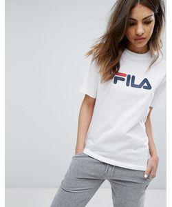 Fila | Oversize-Футболка Бойфренда С Логотипом На Груди