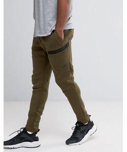 Nike | Зеленые Брюки Узкого Кроя Tf 805218-330 Зеленый