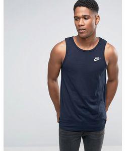 Nike | Синяя Майка Futura 827282-475 Синий