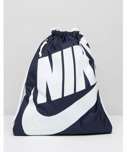 Nike | Синий Рюкзак На Шнурке Heritage Ba5351-451 Синий