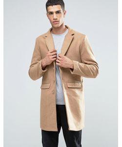 Another Influence | Wool Blend Overcoat Рыжий