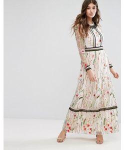 Miss Selfridge | Платье Макси С Вышивкой