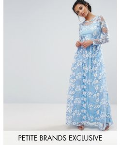 True Decadence Petite | Премиум-Платье Макси С Отделкой