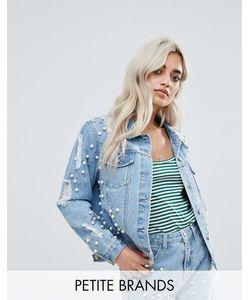 Glamorous Petite | Декорированная Джинсовая Куртка